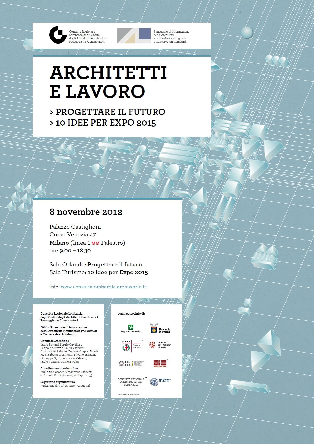 Convegno architetti e lavoro ordine architetti di como for Lavoro architetto milano