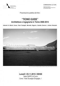 Locandina Presentazione Ticino Guide
