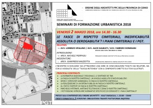 ORDINE ARCHITETTI COMO_Programma Seminario Urbanistica fasce cimiteriali_2MARZO18