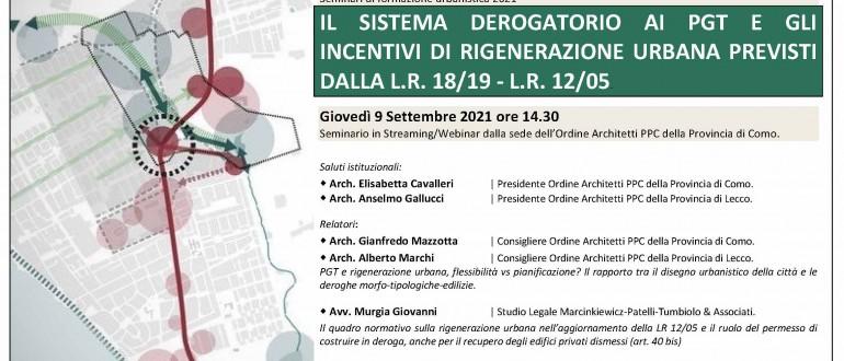 21_ORDINE ARCHITETTI COMO_Seminario deroghe PGTe Rigenerazione Urbana_9sett21